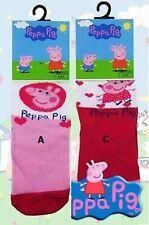 Peppa pig enfants 3Pk chaussettes par besttrend