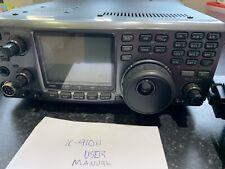 Ham Radio Transceptor Vhf/Uhf Icom IC-910.