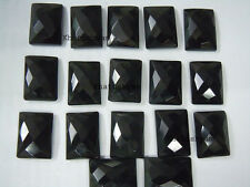 AAA  1 Piece Black Onyx 15x20 MM Octagon Checkerboard Cut Loose Gemstone