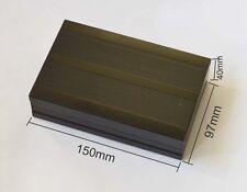 1pcs Black  Electrical Instruments Aluminum Box /Enclosures 150*97*40mm DIY