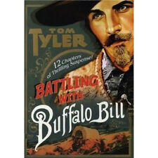 Battling with Buffalo Bill - Classic Movie Cliffhanger Serial DVD Tom Tyler