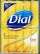 Dial Gold Antibacterial Deodorant Soap 4 oz / 113 g - ( 10 Bars ) *Brand New*