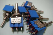 4pc métal DP3T 3-Way Guitar Toggle Switch nterrupteur ON-ON-ON 3 WAY Control DIY