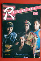 NEVILLE BROTHERS ON COVER 1989 VERY RARE EXYU MAGAZINE