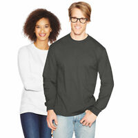 Hanes Long Sleeve Beefy T-Shirt - 5186 Black