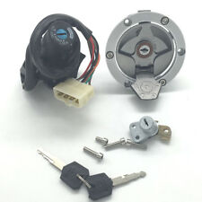 For Kawasaki EX300 Ninja 300 2013-17 Ignition Switch Fuel Gas Cap Seat Lock Key