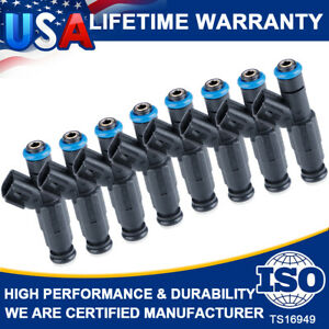 6X Upgrade Fuel Injector 4-Hole For Jeep TJ Cherokee Wrangler 4.0L 1999-2004 Set