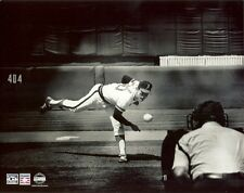 NOLAN RYAN 8x10 ACTION PHOTO Vintage b/w Picture CALIFORNIA ANGELS 4th No-Hitter