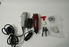 (Lot of 2) Wahl Cordless Designer Clipper 8591l plus whal senior 850