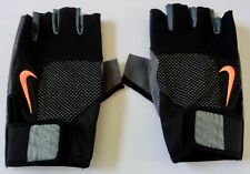 Nike Men's Core Lock Training Gloves Black/Grey Size Medium