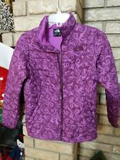 THE NORTH FACE QUILTED THERMOBALL  JACKET SZ GIRLS M 10-12