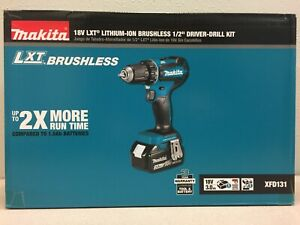 Makita XFD131 18 volt 1/2 in. Brushless Cordless Drill Driver Kit