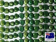 Freshwater Pearls 4mm - Emerald - approx 76 pearls - 1 strand