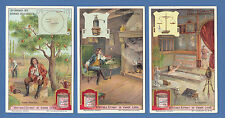 LIEBIG - RARE SET OF 6 CARDS  -  S  1126  /  F  1124  - GREAT DISCOVERIES - 1921