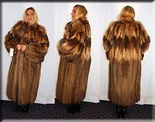 New Tanuki Fur Coat Size Extra Large 14 16 XL Efurs4less