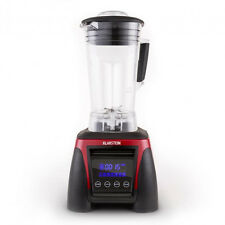 Standmixer 2 Liter 8g Crusher Mixer Smoothie 1800watt Universal Küchenmixer rot