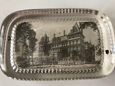 Vintage New York State Capital Building Albany N.Y. Glass Paperweight Souvenir