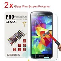 Premium Real Tempered Glass Film Screen Protector for Samsung Galaxy S5
