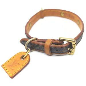 Louis Vuitton Dog Collar Monogram Collier Baxter PM 1005471