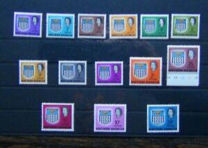 Northern Rhodesia 1963 set to 20s MNH SG75 - SG88