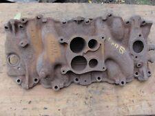 72 Corvette Original Bbc 454 Cast Iron Intake Manifold Oval Port Ls5 Ls3 D 7 72