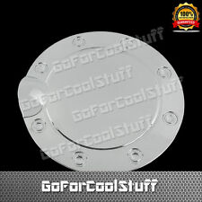 For Ford 2015 F-150 F150 Chrome Gas Fuel Door Cap Tank Doors Cover Covers