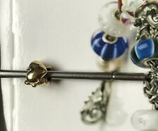 Authentic (Genuine) TROLLBEADS 18K GOLD FAITH, HOPE & CHARITY.New with packaging