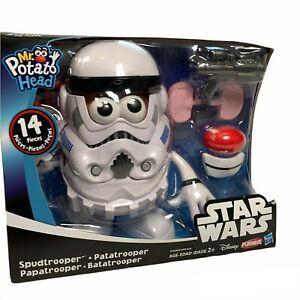 NEW Playskool Star Wars Spud trooper Mr. Potato Head Storm Trooper Disney 14 PCS