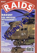 Raids n°61 du 06/1991  Guerre du Golfe Irak Daguet Debay Afghanistan Carabinieri