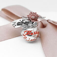 Pandora, Merry Christmas Bauble, S925, Pendant Charm, NEW, 792008CZ