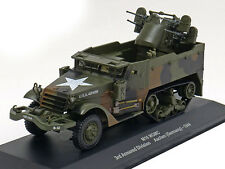 M16 MGMC 3rd Armored Div Aachen 1944- VEHICULE MILITAIRE IXO 1/43 WW2- TANK M2