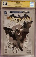 Batman #0 New 52 CGC SS From the Collection of Scott Snyder