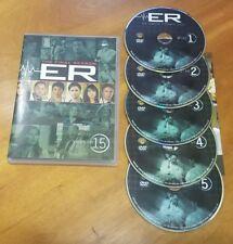 ER: The Final Season - Season 15 (DVD, 2011, 5-Disc Set) tv show series drama