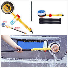 Portable Highpressure Car Wash Cleaning Water Flow Foam Automaticly Rotate Brush
