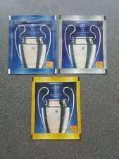 3 DIFFERENT PANINI PACKETS CHAMPIONS LEAGUE 2011/2012