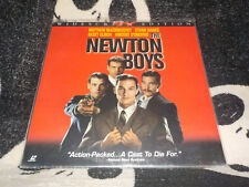 The Newton Boys Widescreen Laserdisc LD Matthew McConaughey Free Ship $30 Orders