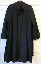 Micheal Kors Mens Long Coat Size 36R Black 100% Genuine