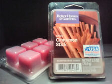 2 PACKS Better Homes & Gardens SPICY CINNAMON STICK Wax Cubes & FREE Shipping!