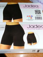 2 Pantaloncini Donna Jadea gamba lunga cotone Elasticizzato Nero Tg. 5 Art.536