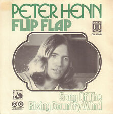 "PETER HENN - Flip Flap (1973 VINYL SINGLE 7"" DUTCH PS)"