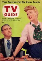 1955 TV Guide March 26 - Gale Gordon; Our Miss Brooks; Rin Tin Tin; Millionaire