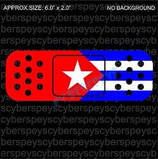 Cuba Flag Band-Aid Design Drift Racing Car Vinyl Sticker Decals