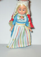 Small Vintage/Antique Celluloid or plastic Doll  sleep eye  HONG KONG