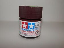 Tamiya Color Acrylic Paint Hull Red #XF-9 (23 ml) NEW