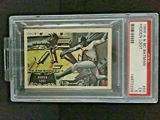 A&BC 1966 BATMAN BLACK BAT END CARD HIDDEN LOOT #55 PSA 5 EXCELLENT - SCARCE !!!