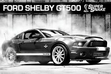 Ford Shelby Mustang GT500 2013 Supersnake American Muscle Car Autophile POSTER