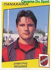 238 Dimitris Meidanis GREECE PANACHAIKI.FC RARE STICKER PODOSPHAIRO 1998 PANINI