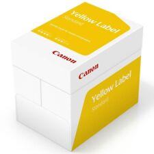 Canon A4 Papel Blanco 80gsm Impresora Copiadora de impresión, etiqueta de inyección de tinta, láser, amarillo