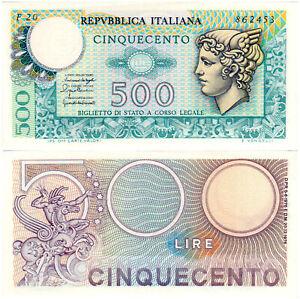 Italy 500 Lire P#95 (1976) Repubblica Italiana UNC