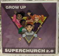 GROW UP SUPERCHURCH 2.0 Curriculum 3 DVD 1 CD-ROM Set Christian Homeschool 2010